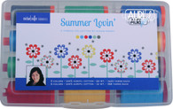 Aurifil Cotton 50 2t and 12wt 12 Large Spools Summer Lovin Collection by Susan Emory