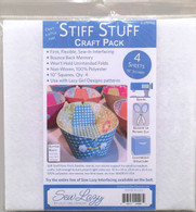 Stiff Stuff  Craft Pack 10in Square 4/pkg