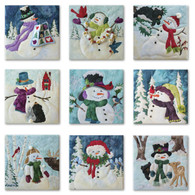 Snow Buds Laser Cut Fabric Kit and Complete Pattern Set