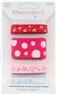Kimberbellishments Valentine Ribbon Set