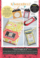 Giftables In the Hoop Pocket Tags Volume 1 Machine Embroidery CD