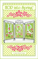 Hop Into Spring Embroidery Design CD