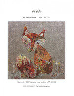 Freida Fox Collage Fused Applique Pattern