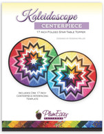 Kaleidoscope Centerpiece 17 inch Folded Star Table Topper