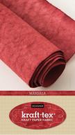 krafttex Kraft Paper Fabric Roll 18.5in x 28.5in Roll Marsala