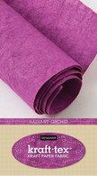 krafttex Kraft Paper Fabric Roll 18.5in x 28.5in Roll Radiant Orchid