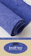 krafttex Kraft Paper Fabric Roll 18.5in x 28.5in Roll Blue Iris