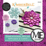 Dimensional Mylar Applique and Cards Volume 1 Machine Embroidery CD