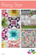 Rising Star Quilt Pattern by V and Co
