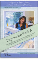 Edge to Edge Quilting Expansion Pack 8 with CD