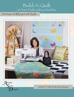 Build-A-Quilt On Your Embroidery Machine with CD - Softcover