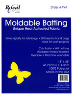 Moldable Batting Heat Activated 18in x 45in