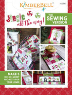 Jingle All the Way! Sewing Pattern Softcover Book