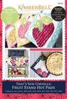 That's Sew Chenille: Fruit Stand Hot Pads Machine Embroidery CD