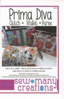 Prima Diva Clutch Wallet Pattern