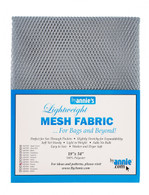 Lightweight Mesh Fabric Pewter 18in x 54in