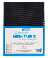 Lightweight Mesh Fabric Navy 18in x 54in
