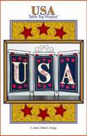 USA Table Top Display Embroidery Design CD