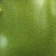 Glitter Mirror Canvas Vinyl Roll 12in x 54in Green Apple