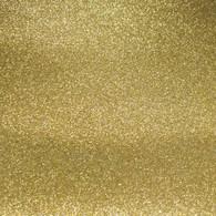Glitter Mirror Canvas Vinyl Roll 12in x 54in Gold