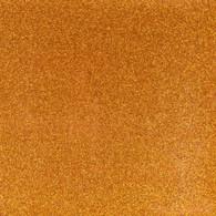 Glitter Mirror Canvas Vinyl Roll 12in x 54in Orange