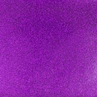 Glitter Mirror Canvas Vinyl Roll 12in x 54in Purple