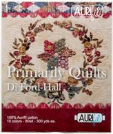 Aurifil 10 Small 80wt Small Spool Primarily Quilts Collection by Di Ford-Hall