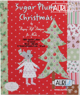 Aurifil 10 Small 80wt and Floss Small Spool Sugar Plum Christmas Collection by Anne Sutton