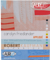Aurifil 10 Small 80wt Small Spool Applique Collection by Carolyn Friedlander