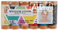 Aurifil 6 Small 80wt Small Spool Meadow Storm Collection by Victoria Findlay Wolfe