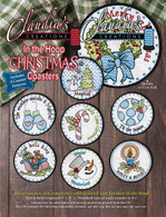 In the Hoop Christmas Coasters Machine Embroidery CD