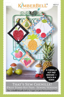 That's Sew Chenille Fruit Stand Hot Pads Sewing Version Pattern