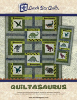 Quiltasaurus Embroidery Applique Quilt Redemption Code with CD