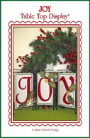 Joy Table Top Display Embroidery Design CD