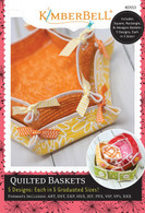 Quilted Baskets Machine Embroidery CD