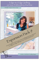 Edge to Edge Quilting Expansion Pack 9 with CD