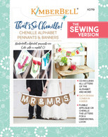 That's So Chenille Alphabet Pennants and Banners Sewing Version