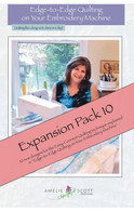 Edge to Edge Quilting Expansion Pack 10 with CD