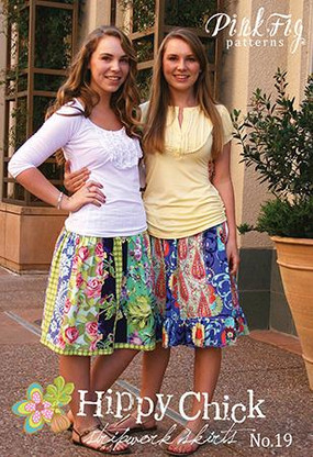 Hippy Chick Stripwork Skirts