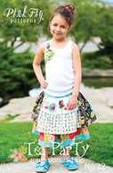 Tea Party Apron Skirt/Top