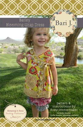 Bailey Blooming Wrap Dress