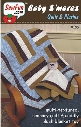 Baby S'mores Quilt and Plushie Pattern