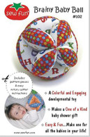 Brainy Baby Ball Pattern