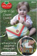 Grab 'n Go Diaper Clutch Pattern