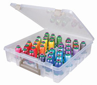 Super Satchel Isacord Thread Box with Isacord Thread 36 1000m Spools Assorted Colors