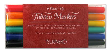Fabrico Dual Marker Set Standard Colors