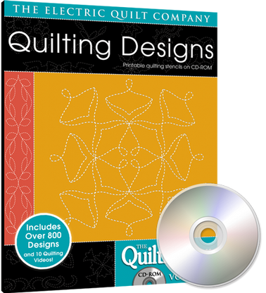 Quiltmaker's Quilting Designs Volume 5 CD-ROM