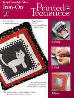 Iron-On Printed Treasures Printer Fabric Sheets White