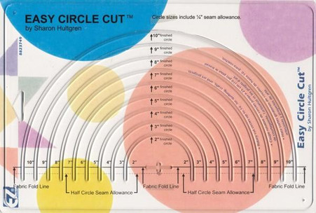 Easy Circle Cut Ruler 8in x 12in