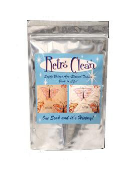 Retro Clean Soak 4oz unscented
